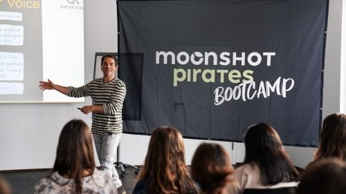 Moonshot Pirates Bootcamp