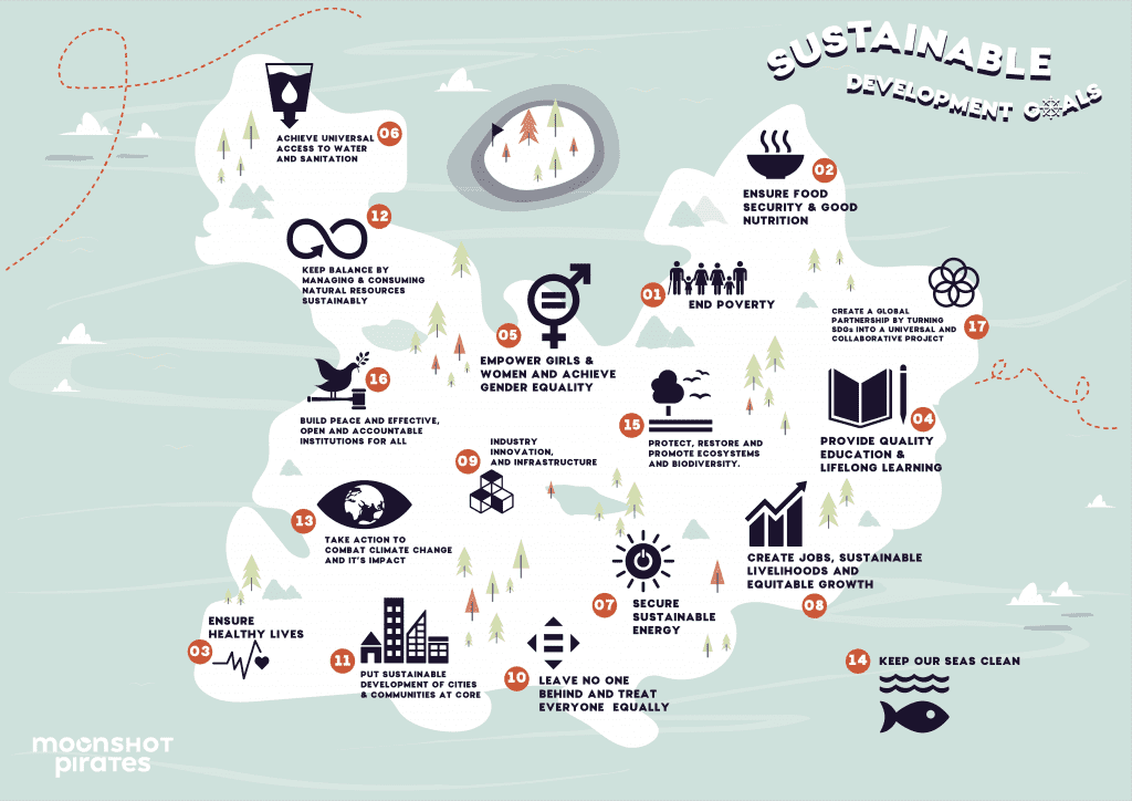 Sustainable Development Goals - Moonshot Pirates